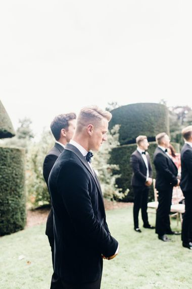 Black Tie for the Groom and his men | Mrs Bowtie | Photography by Jessica Reeve.