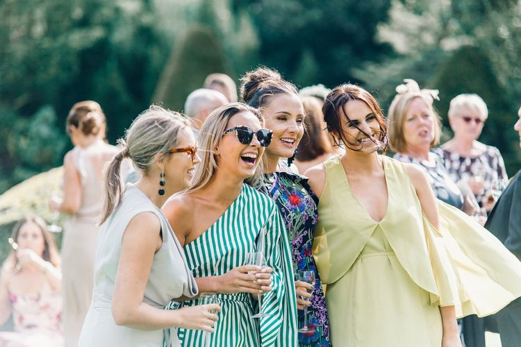 Gorgeous guests | Askham Hall | Outdoor ceremony | Photography by Jessica Reeve.
