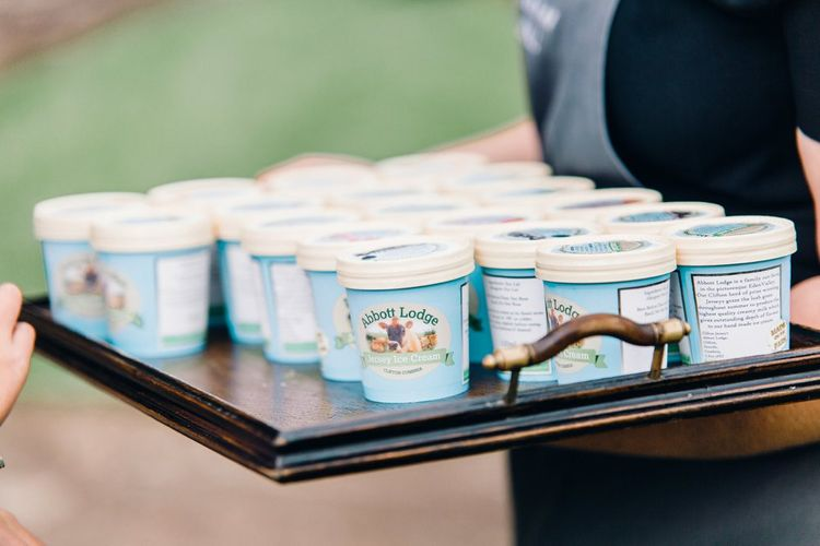 Ice Cream | Askham Hall | Outdoor ceremony | Photography by Jessica Reeve.
