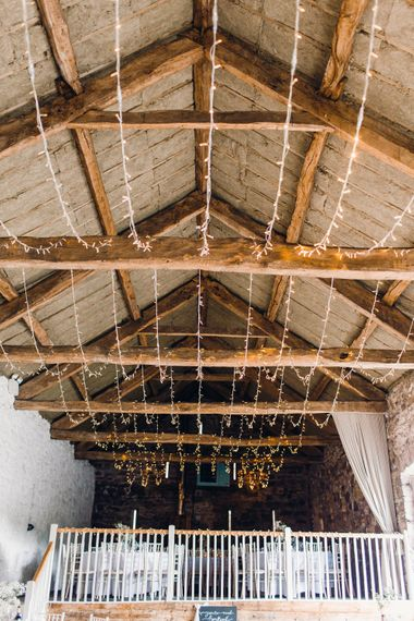 Lights by SVL Hire | Askham Hall | Photography by Jessica Reeve.