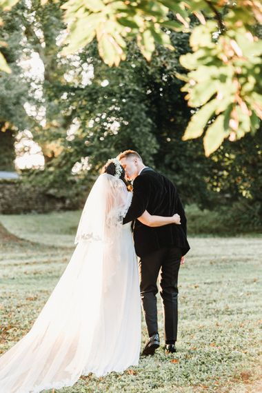 Beautiful couple | Askham Hall | Photography by Jessica Reeve.