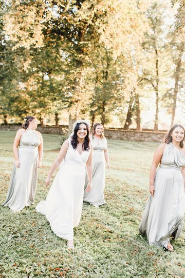 Victoria Lou Bridal for Bridesmaids | Askham Hall | Photography by Jessica Reeve.