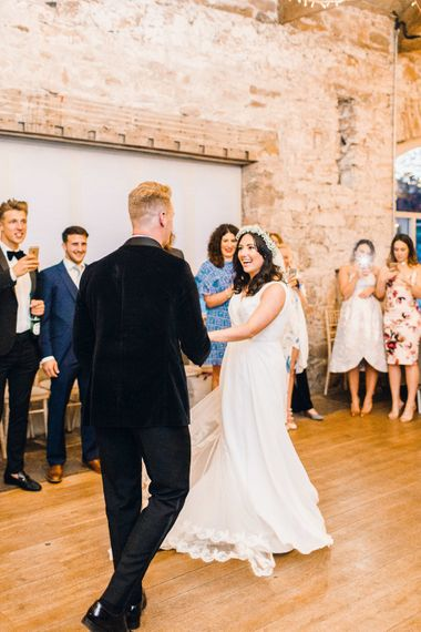 First Dance | Askham Hall | Photography by Jessica Reeve.