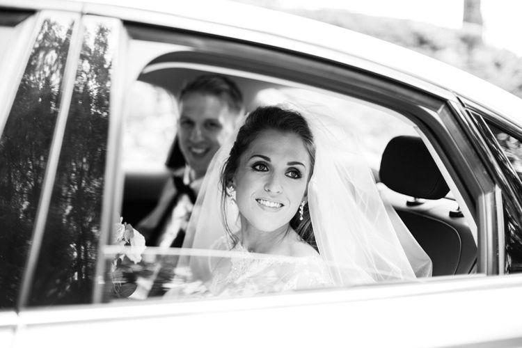 Bridal & Groom Wedding Car Exit