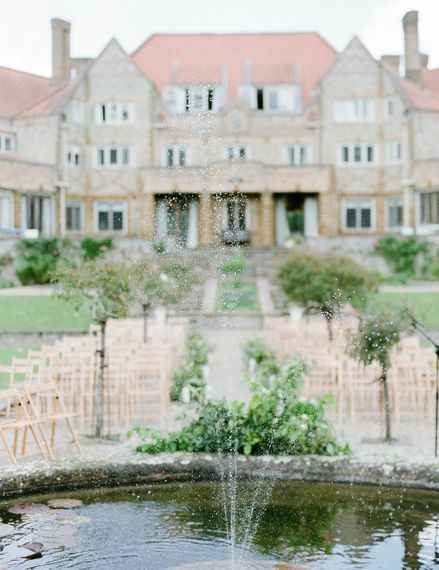 Classic Green & White Outdoor Country Wedding at Voewood in Norfolk, Planned & Styled by Vanilla Rose Weddings & Events | Julie Michaelsen Photography