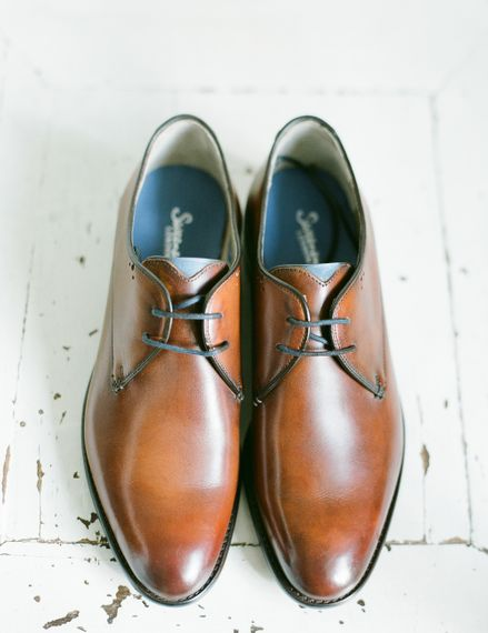Tan Wedding Grooms Shoes | Classic Green & White Outdoor Country Wedding at Voewood in Norfolk, Planned & Styled by Vanilla Rose Weddings & Events | Julie Michaelsen Photography
