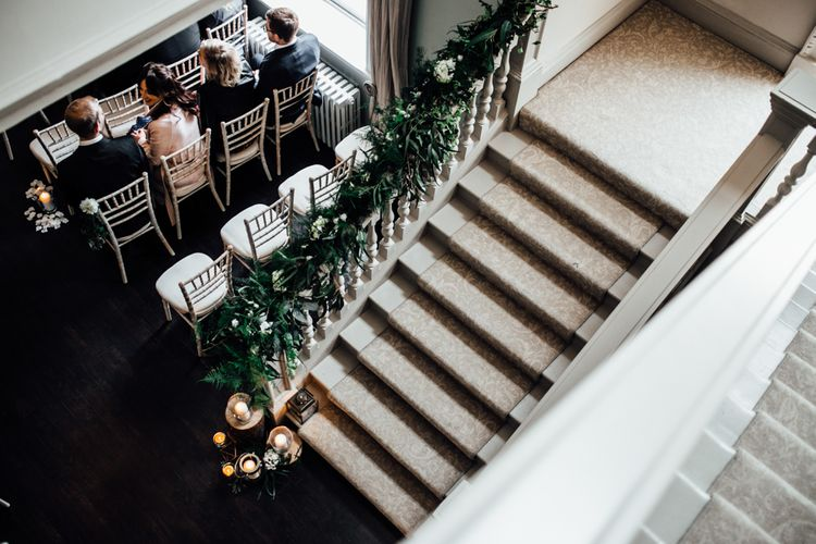 Stylish White, Greenery & Copper Wedding at Morden Hall in London | Beatrici Photography