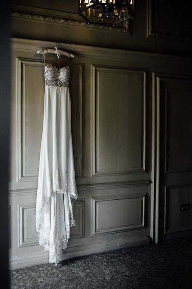 Illusion Back Martina Liana Bridal Gown | Modern Hall London | Beatrici Photography
