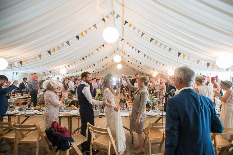 Country Fete Marquee Reception