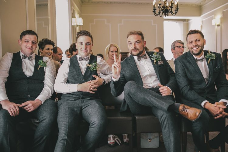 Groomsmen in Marc Darcy Suits | Steven Haddock Photography