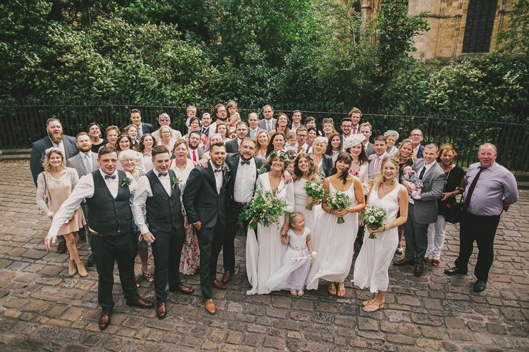 Wedding Guests Group Shot | Steven Haddock Photography