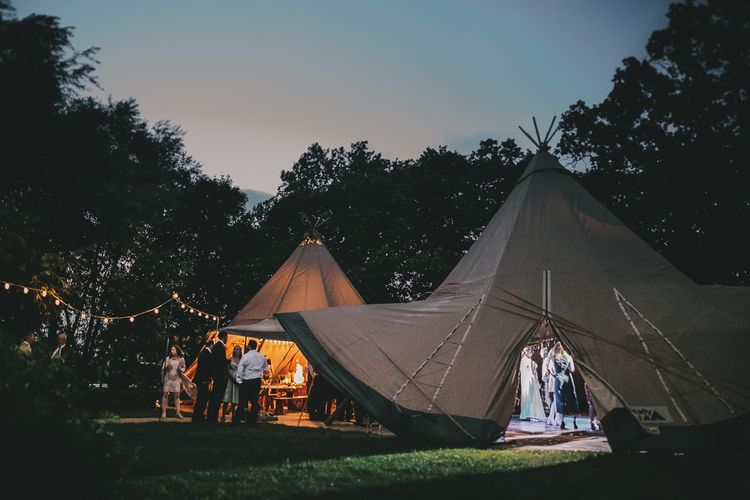 Tipi Wedding | Steven Haddock Photography