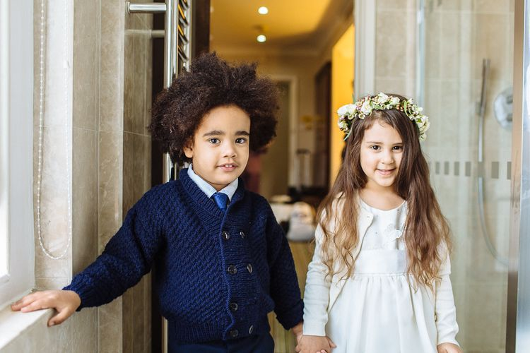 Adorable Page Boy And Flower Girl Outfit