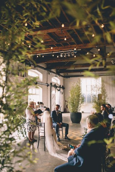 Trinity Buoy Wharf Wedding Ceremony