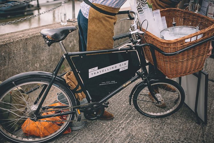 The Travelling Gin Co. Bike