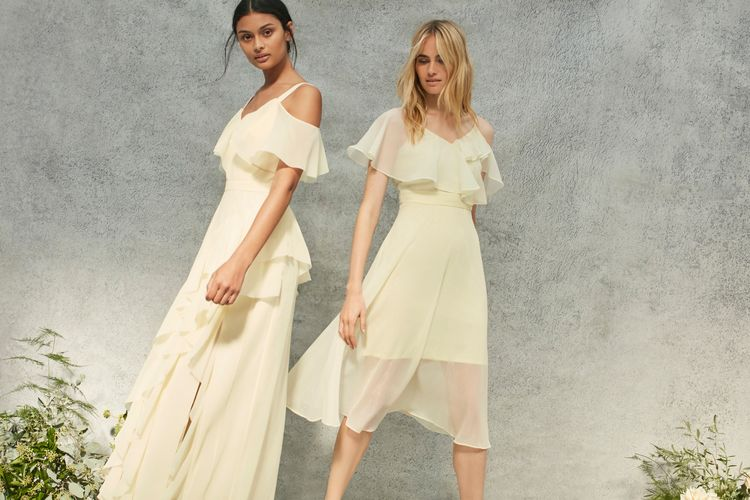 "<a href=""https://www.coast-stores.com/p/illy-ruffle-cold-shoulder-dres/1890620?utm_source=Rock_my_wedding&utm_medium=social&utm_campaign=blog_post&utm_content=illydress"" rel=""noopener"" target=""_blank"">Illy Maxi Dress</a> & <a href=""https://www.coast-stores.com/p/jenna-dress/1923665?utm_source=Rock_my_wedding&utm_medium=social&utm_campaign=blog_post&utm_content=Jennadress"" rel=""noopener"" target=""_blank"">Jenna Dress</a> by Coast (LEMON COMING SOON)"