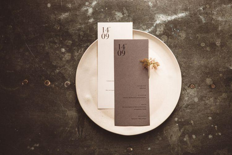Minimalist & Elegant Wedding Stationery | Hilde. Stories