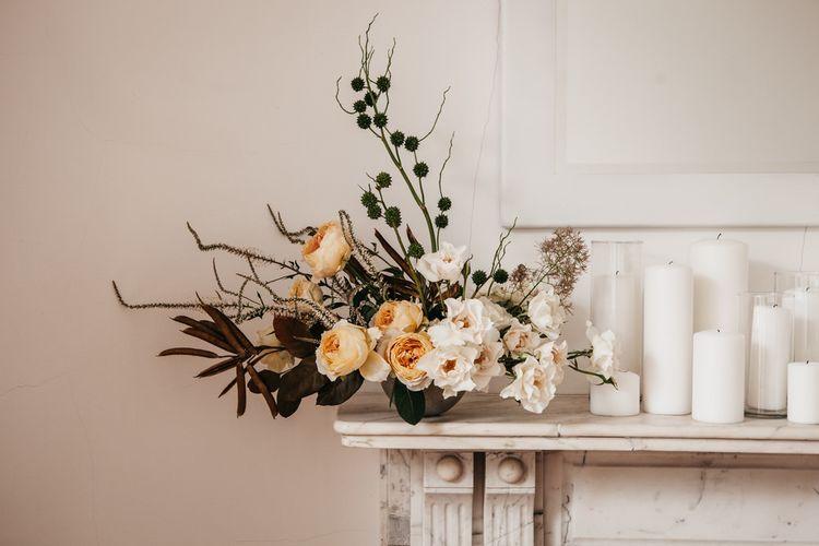 Elegant & Minimal Autumnal Wedding Inspiration