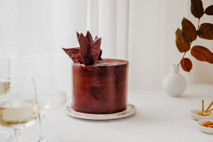 Chocolate Cake By Lucie Bennett