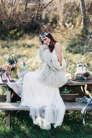Otaduy Wedding Dresses For A Bohemian Free Spirited Bridal Inspiration Shoot