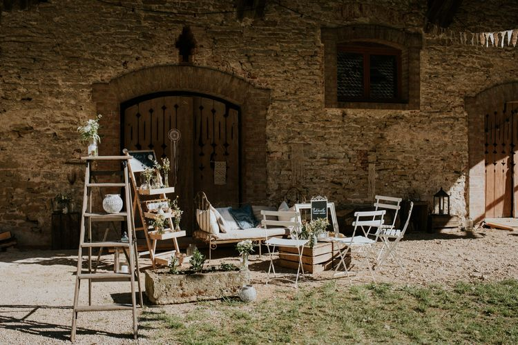 Chic Rustic French Wedding at Le Morimont Styled by Féelicité | Photography by Chloe