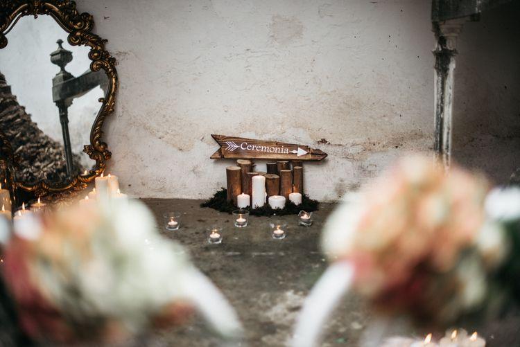 Rustic Wooden Wedding Decor