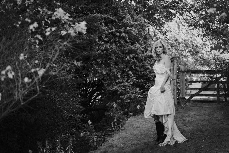 Bride in Wellies