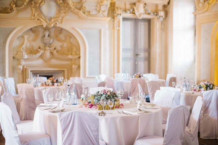 Elegant Rastatt Residential Palace Wedding Breakfast Room