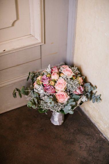 Romantic Pink Wedding Bouquet