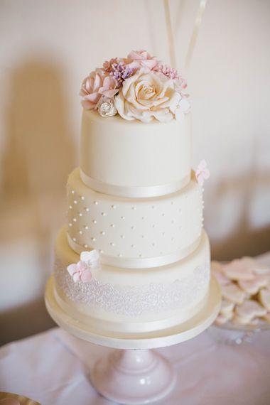 Elegant 3 Tier Wedding Cake