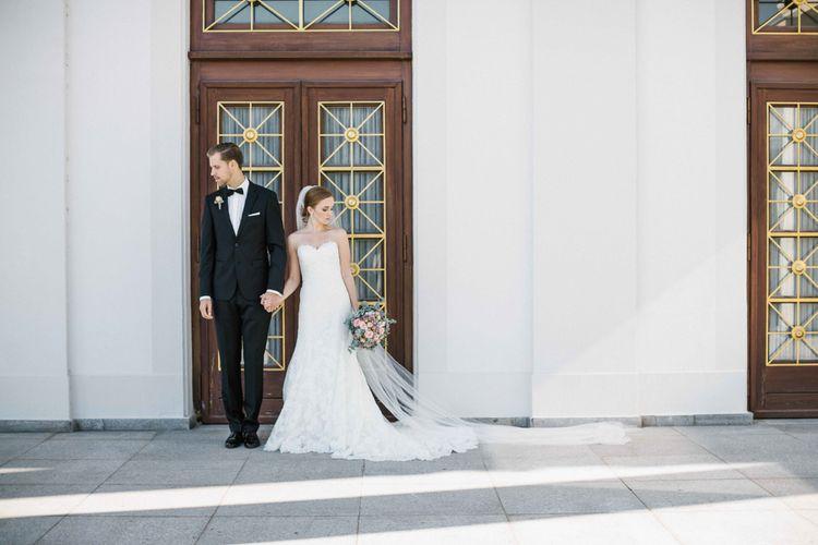 Elegant Bride & Groom