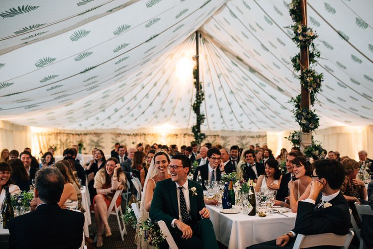 Wedding Reception in Marquee