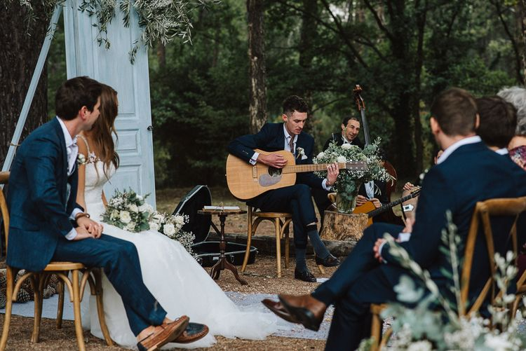 Wedding Music at Outdoor Wedding Ceremony