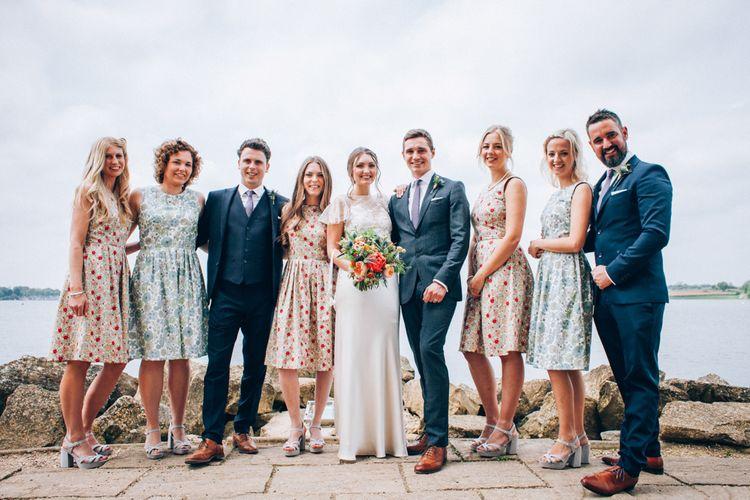 Wedding Party at Normanton Church Rutland Water
