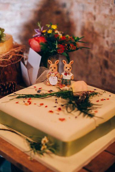Traditional Iced Wedding Cake