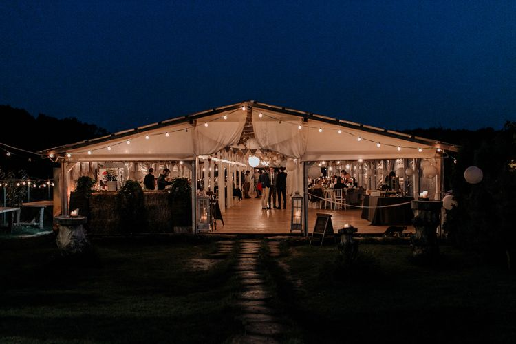 Marquee Reception at The Wedding Venue in Romania