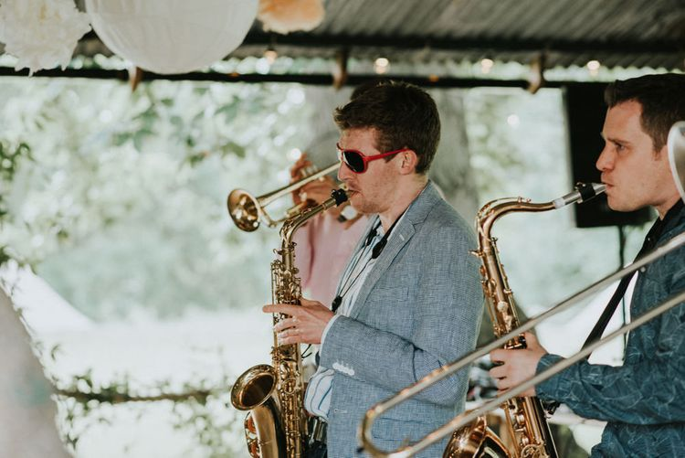 Live Music Wedding Entertainment   Outdoor Woodland Wedding at The Dreys in Kent   Fern Edwards Photography