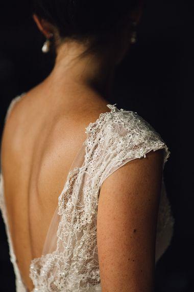 Embellished Bodice & Tulle Skirt David Fielden Customised Wedding Dress
