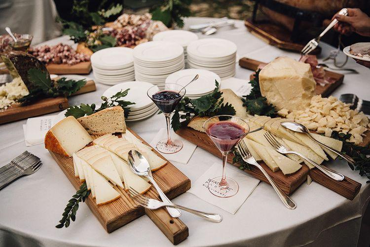 Anti Pasti Wedding Food