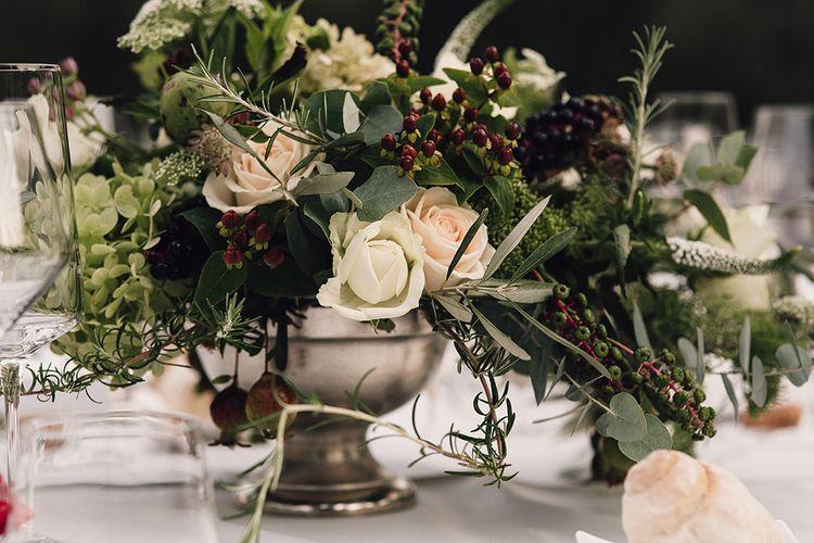 Elegant Floral Table Centrepieces