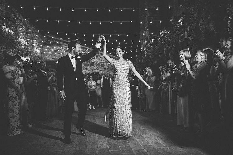 Bride (in Sequin ASOS Dress) & Groom First Dance