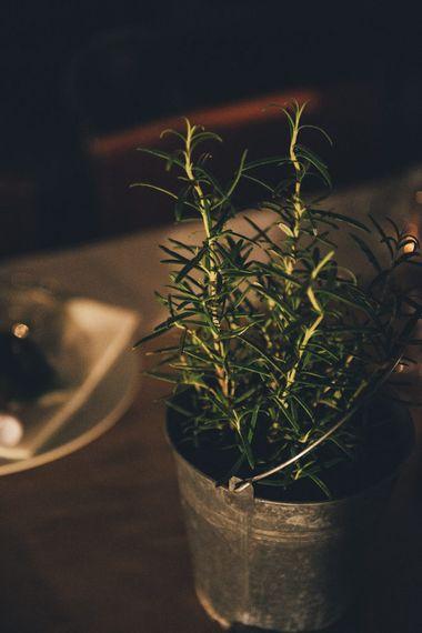 Herb Wedding Decor