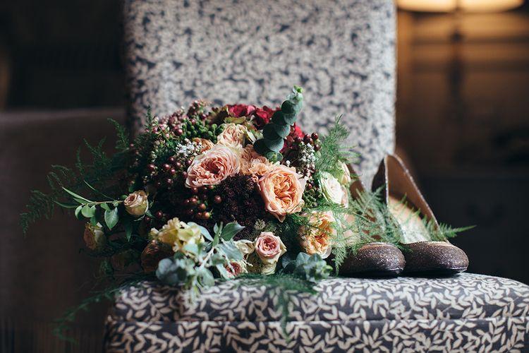 Banana Republic Shoes & Bridal Bouquet
