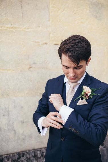 Groom in Suit from Savile Row
