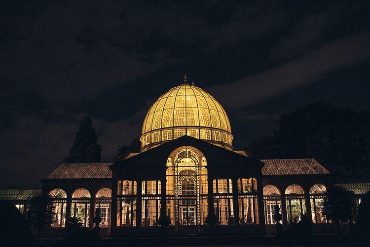 Syon Park Orangery at Night