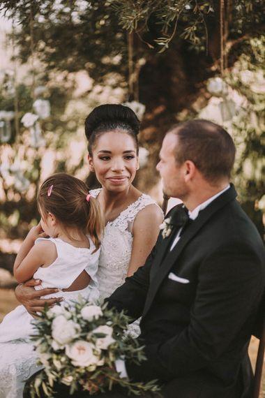 Bride, Groom & Daughter