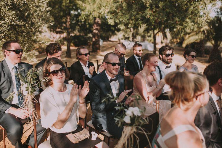 Outdoor Spanish Wedding Ceremony