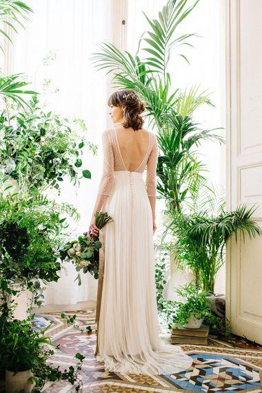 Bridal Gown By Jose María Peiró