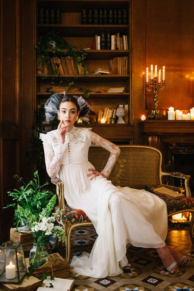 Victoriana Bridal Gown By Juana Rique