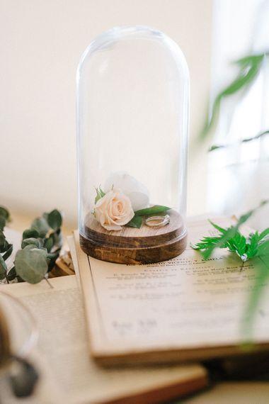 Botanical Shoot From Rodolfo Mcartney Showcasing Spanish Bridal Design With Opulent Wedding Bouquet & Bride With Fringe Diez & Bourdons Photo